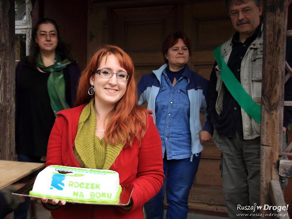 Pierwsze urodziny Stowarzyszenia Kochamy Żuławy - Marta Antonina Łobocka z rodziną
