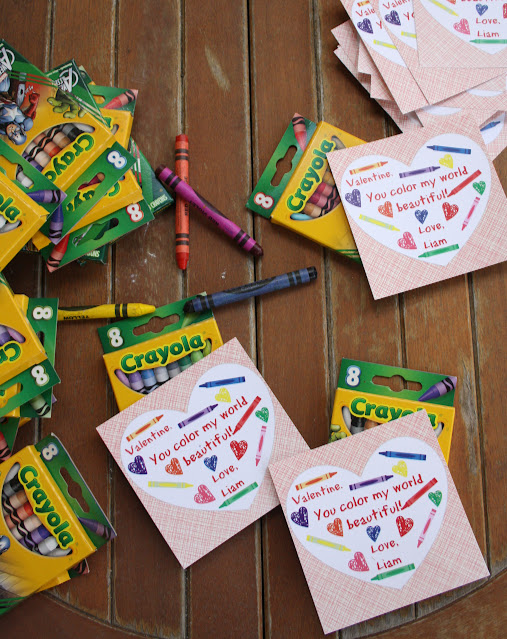 Crayon Valentines - Run DMT