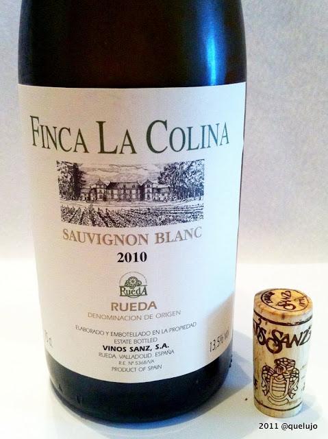 Vino Finca La Colina Sauvignon Blanc 2010, Vinos Sanz (DO Rueda)