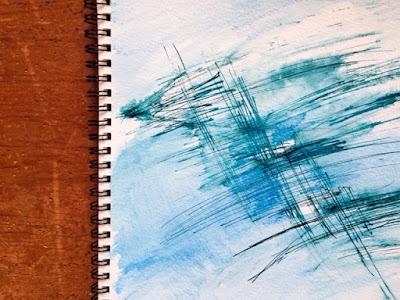 Rachel Loewens: ink experiments