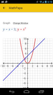 algebra mathpapa