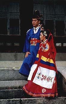 Traditional marriage garb