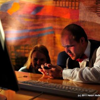 Professorite Talkshow 2011 Rebasenädalal Tartu Ülikoolis