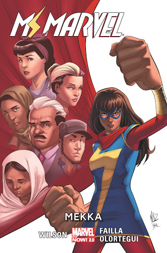 Ms Marvel tom 8 okładka