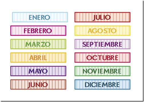 dias de la semana y meses del año (2)