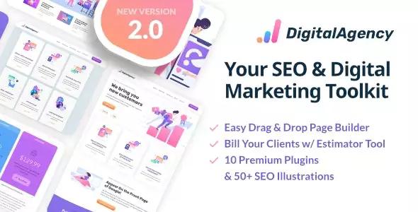 SEO WP v2.0.3 – Online Marketing, SEO, Social Media Agency