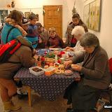 Předvádění tvorby lidových ozdob 2013