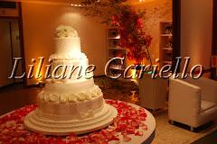 Fotos de decoração de casamento de Casamento Ligia e Felipe no Real Astoria da decoradora e cerimonialista de casamento Liliane Cariello que atua no Rio de Janeiro e Niterói, RJ.