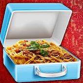 cheese pasta school lunchbox - cooking game