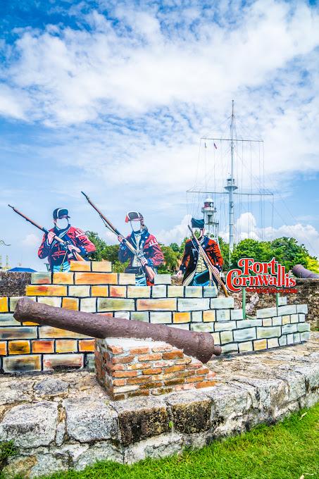 ペナン島 ジョージタウン コーンウォリス砦8