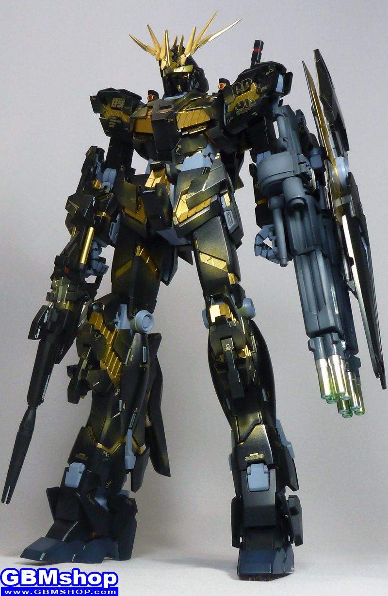 resin 1/100 RX-0 Unicorn Gundam 02 Banshee