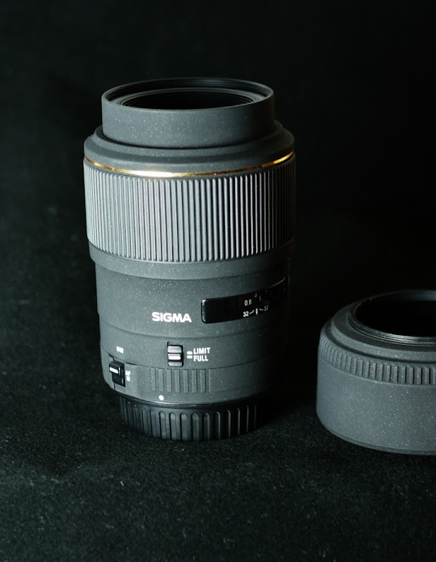 Sigma 105mm f/2.8 EX DG MACRO pro CANON