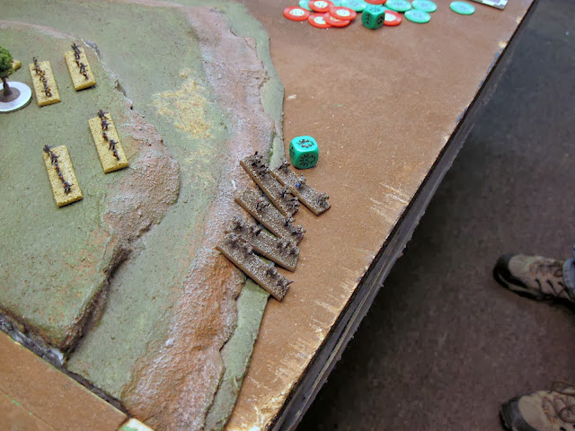 Assault Marines fail to engage, and regroup (guardsmen breath a sigh of relief).