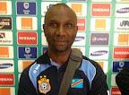 Le sélectionneur des Léopards de la RDC, Florent Ibenge, à la Can 2015 en
