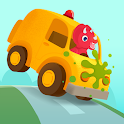 Dinosaur Car - Painting Games for kids icon
