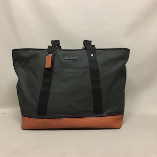 Coach Waxed Canvas Tote