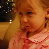 Ons dochterke probeert kwaad te kijken :-)