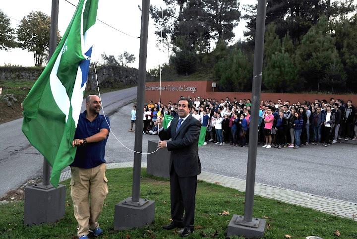 """""""Bandeira Verde"""" distingue Escola de Hotelaria e Turismo do Douro"""