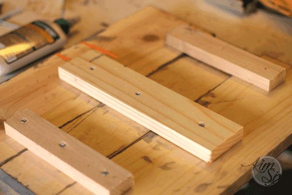 Scrap wood sign
