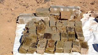 Trois narcotrafiquants appréhendés et plus de 16 quintaux de kif saisis à Tindouf, Mascara et Tlemcen (MDN)