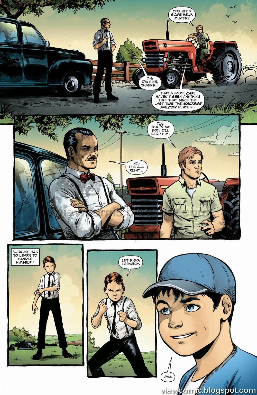 When Clark met Bruce