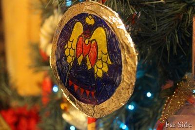 Adams handmade ornament