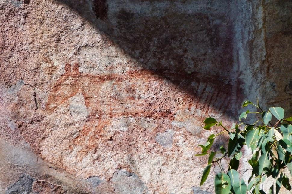 Rock Art Thylacine
