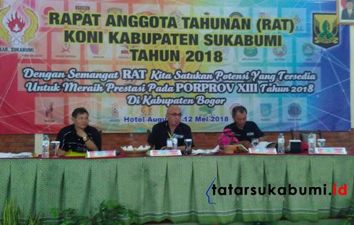 2018 KONI Targetkan Kabupaten Sukabumi Duduki 13 Besar Tingkat Provinsi Jabar