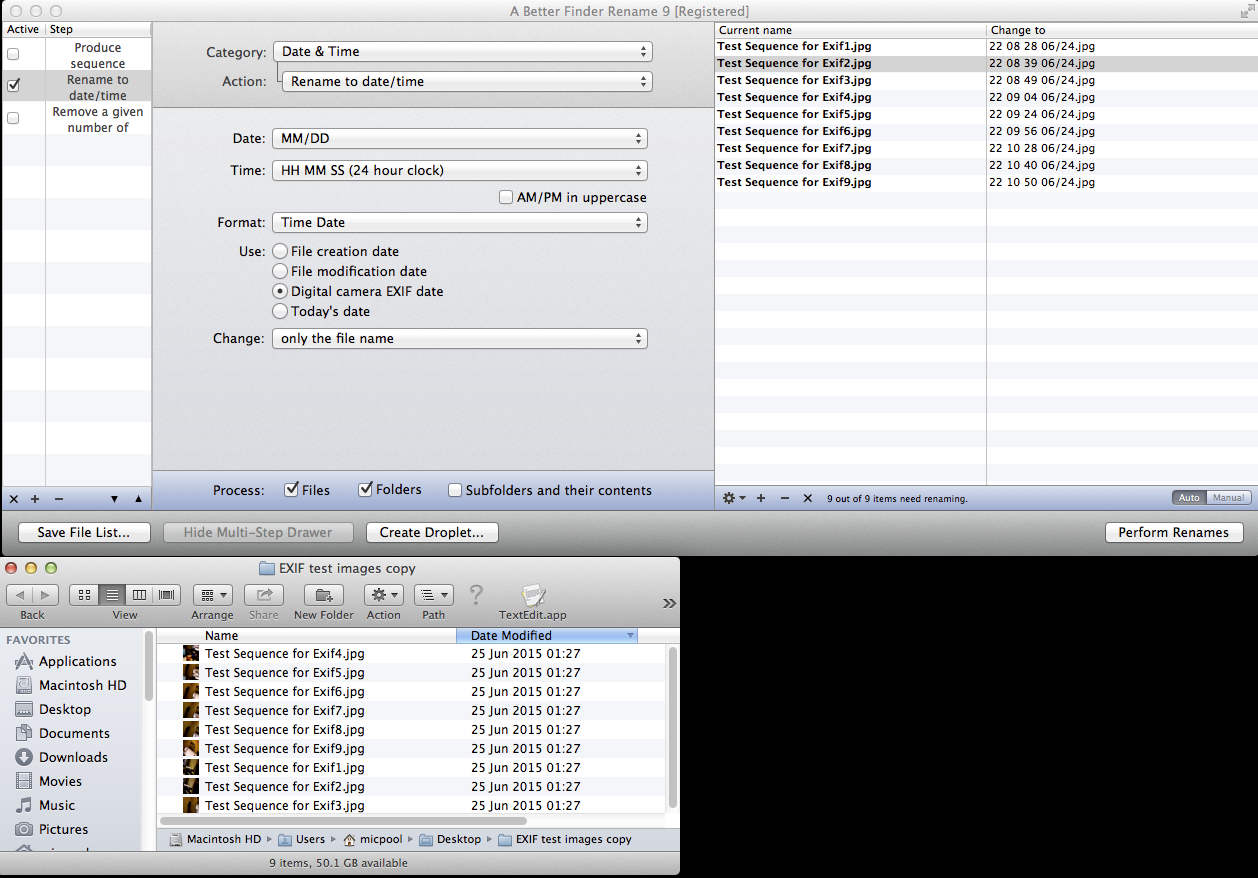 EXIF data and AppleScript? - Google Groups