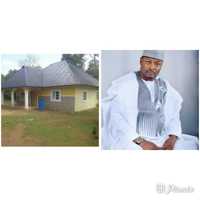 Koko Dan constructs 4 Bedroom flat for poor couple in obudu