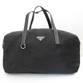 Prada Nylon Mini Duffel Bag