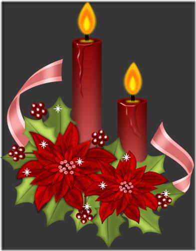 fotos velas de Navidad (6)