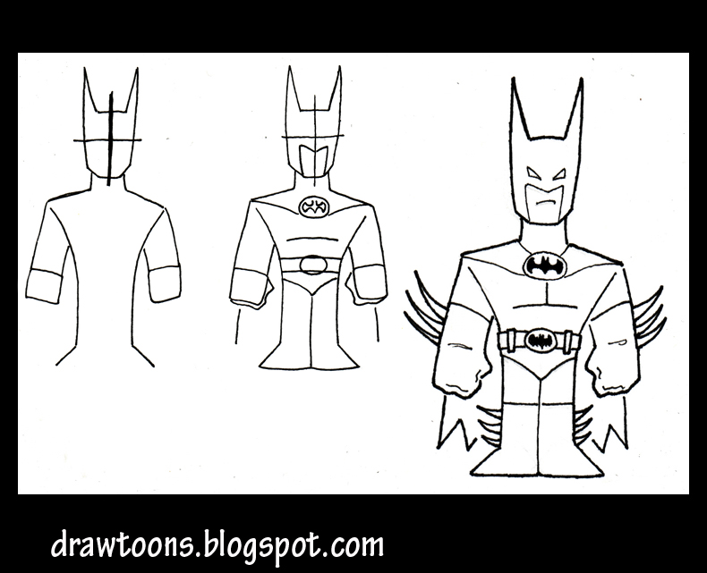 Apprendre comment dessiner batman - Dessiner batman ...