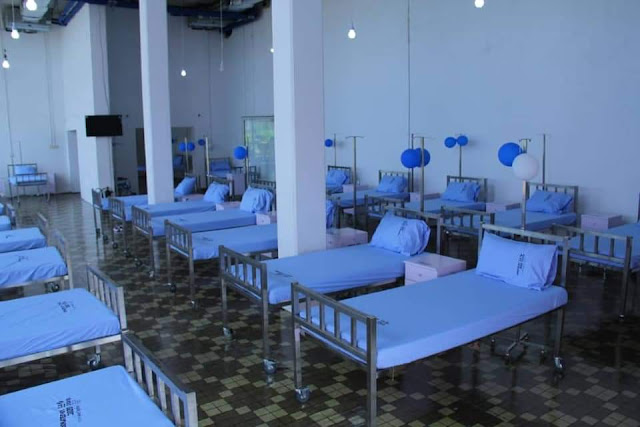 Soaya county converts dispensary to a isolation and treatment centre
