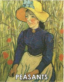 Vincent van Gogh Paintings of Peasants