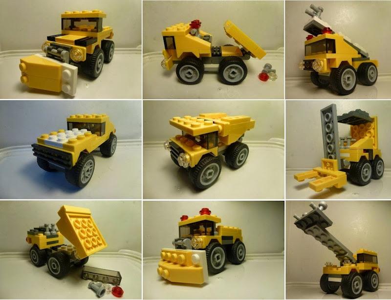 Lego Creator 30283 làm nên những điều ngoài sức tưởng tượng