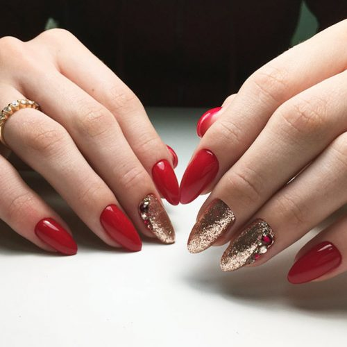 Hottest Red Nails For Woman 2018 8