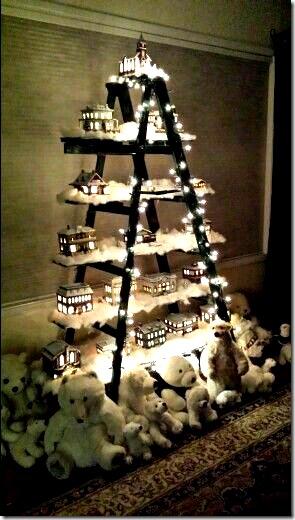 arboles de navidad con escalera buenanavidad (10)