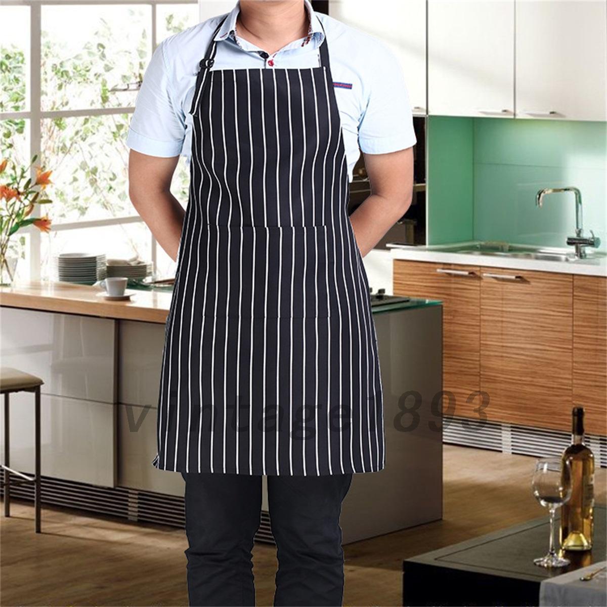 Fashion Women Men Bib Apron Cooking Chef Kitchen ...