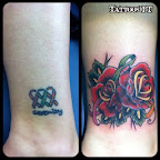 pulse rose - tattoo designs