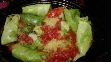 Authentic Halupki (Cabbage Rolls)