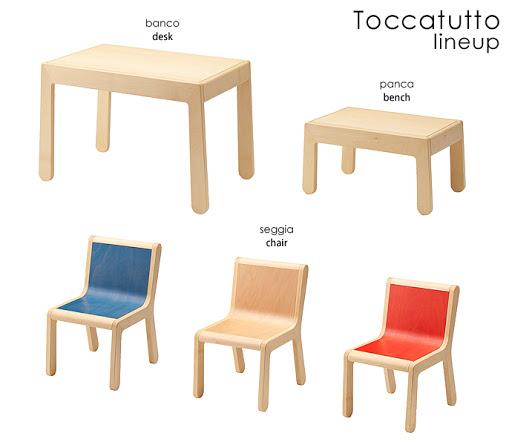 TOCCATUTTOシリーズラインナップ
