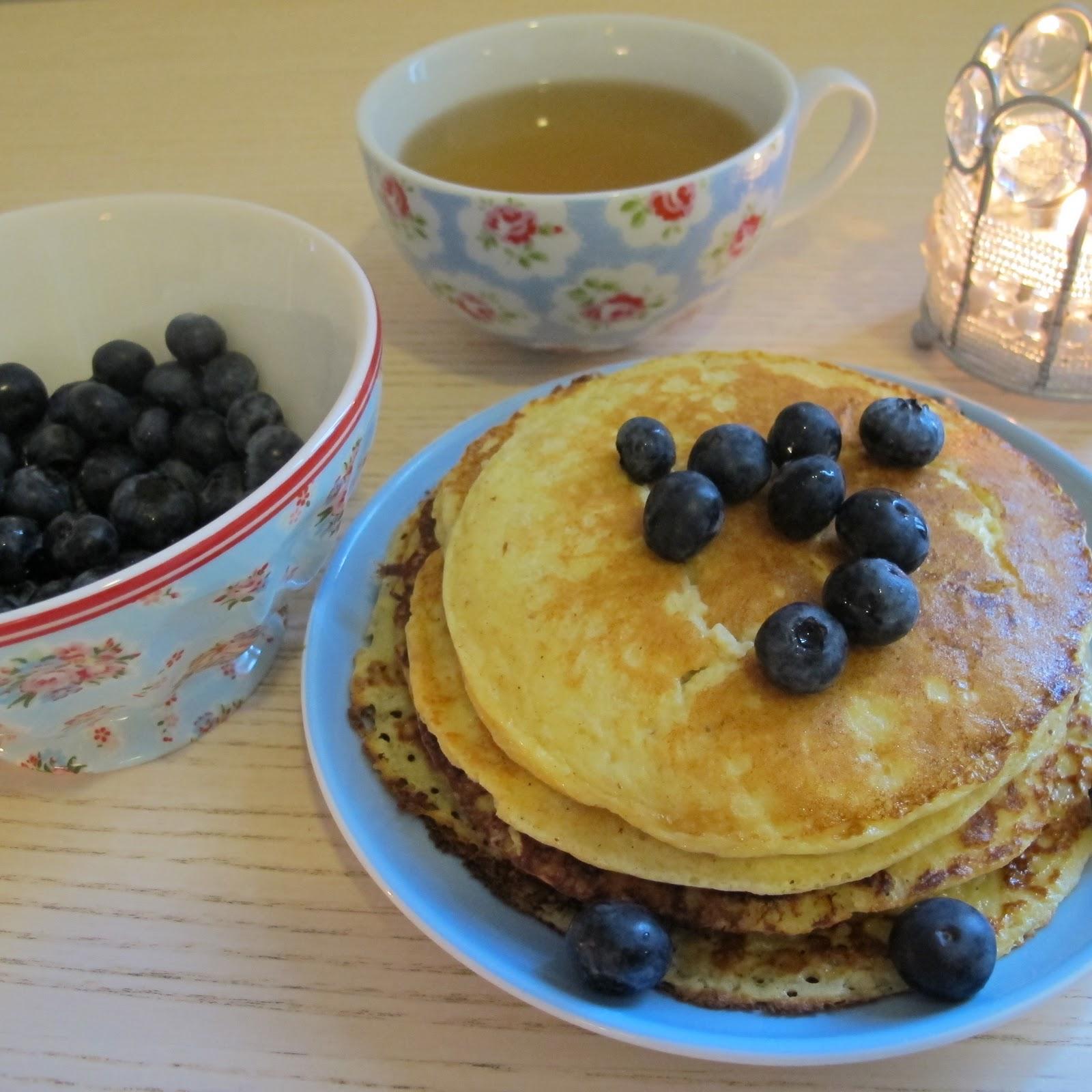 Betinas matgleder pannekaker med cottage cheese for Med cottage