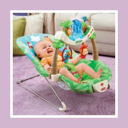 Fisher-Price Rainforest Bouncer at Amazon.com