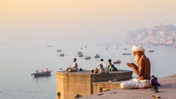 Varanasi, India: Ganges River