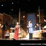 Randy McConnach, Stephanie G. Insogna, Joanne Westervelt, Benita Zahn, Richard Harte, Patricia Hoffman and Richard Michael Roe in THE ROYAL FAMILY (R) - December 2011.  Property of The Schenectady Civic Players Theater Archive.
