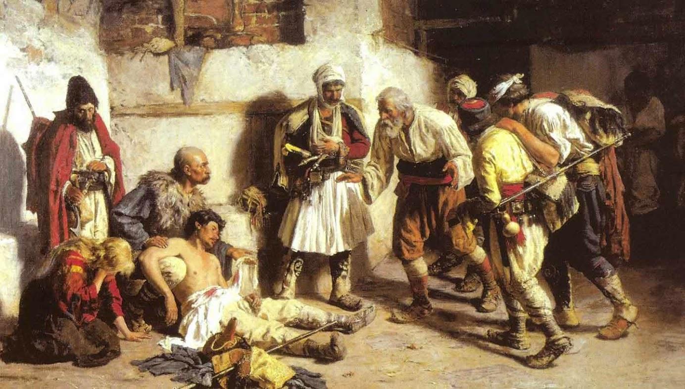 Раненый черногорец