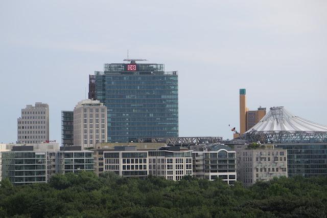 Blick in Richtung Potsdamer Platz