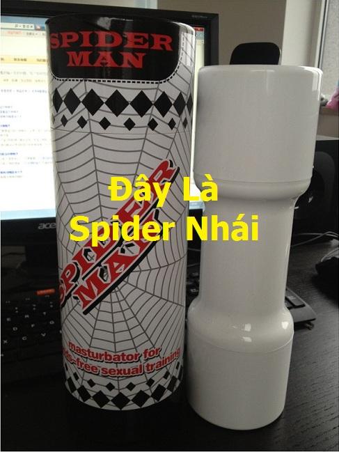 Hình ảnh âm đạo giả spider mastubator nhái