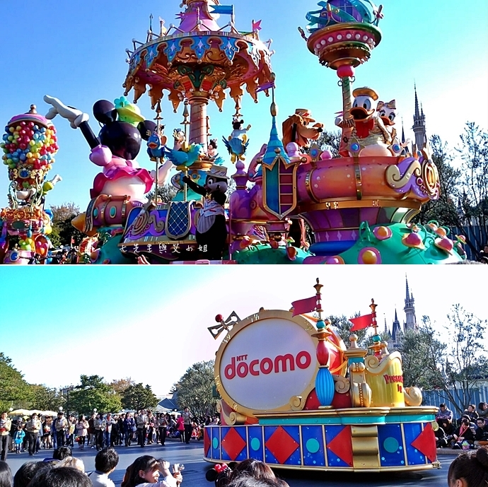 14 迪士尼聖誕村大遊行幸福在這裡夢之光大遊行